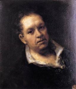 autoportret goya